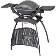 Barbecue électrique WEBER Q 1400 stand, gris anthracite