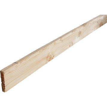 Planche sapin non traité 25x150 mm 3 m chx3
