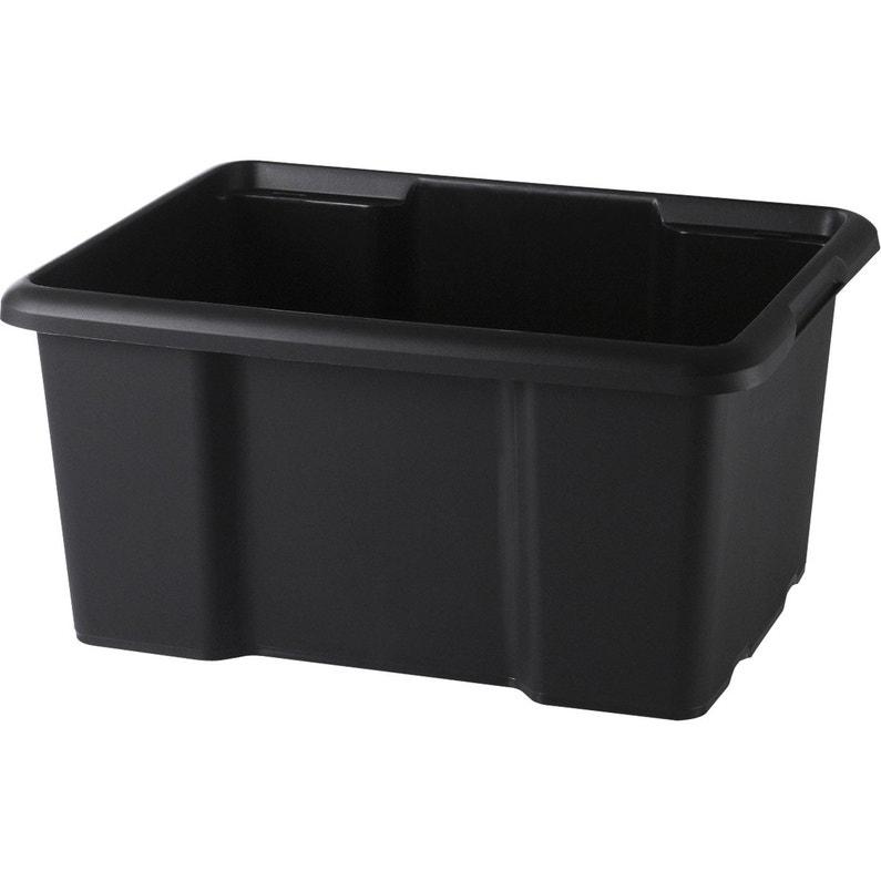 Bac Plastique L 29 X P 38 X H 19 5 Cm