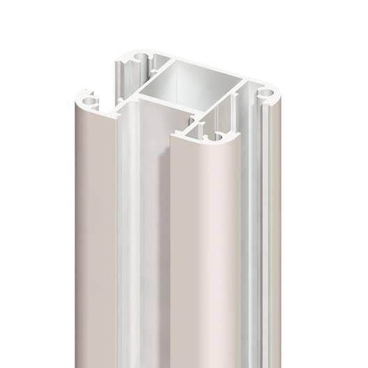 poteau aluminium klos up l 7 5 x p 5 4 x cm. Black Bedroom Furniture Sets. Home Design Ideas