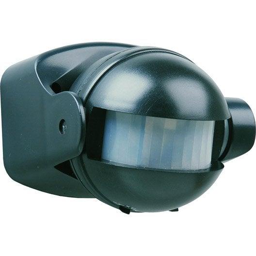 d tecteur de mouvement pour clairage 180 smartwares es34z sw leroy merlin. Black Bedroom Furniture Sets. Home Design Ideas