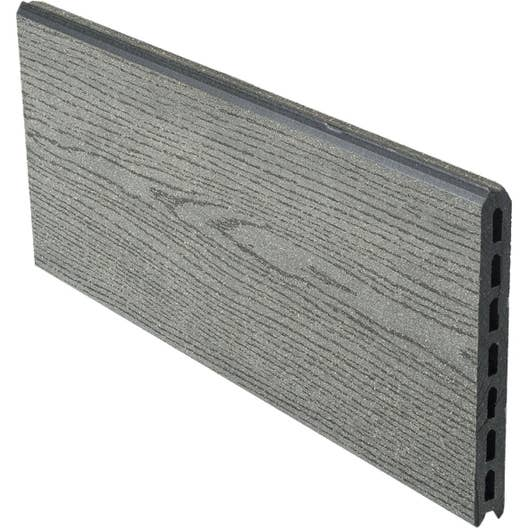 lame composite embo ter premium gris x cm x mm leroy merlin. Black Bedroom Furniture Sets. Home Design Ideas