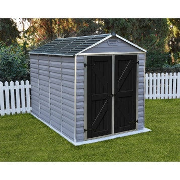 Abri de jardin bois, métal, résine, chalet de jardin, cabane de ... 8bd134777b2c