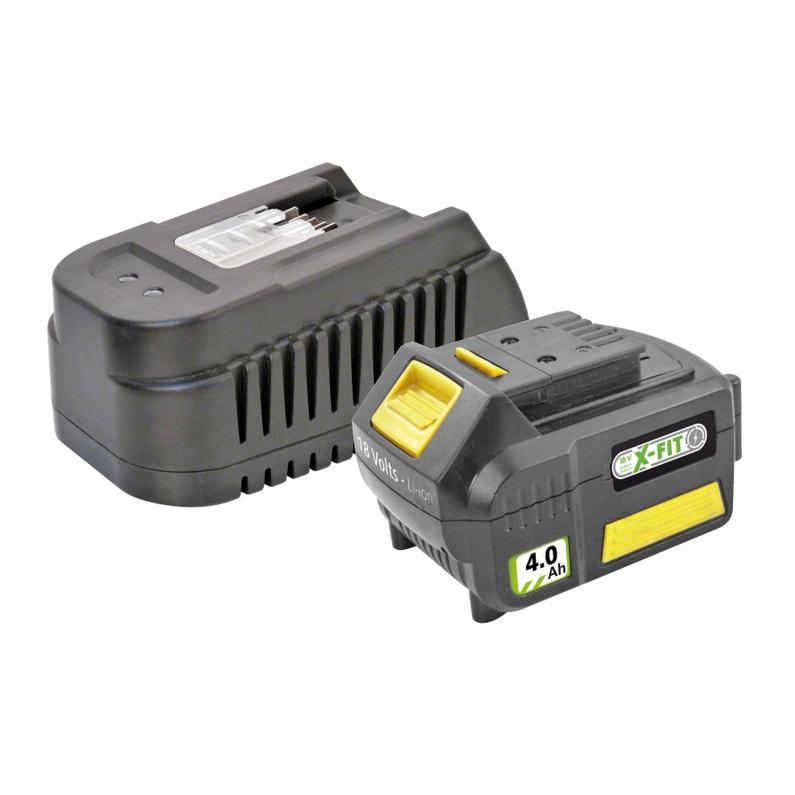 Chargeur Batterie 4ah Fartools Pour Gamme X Fit 18 V