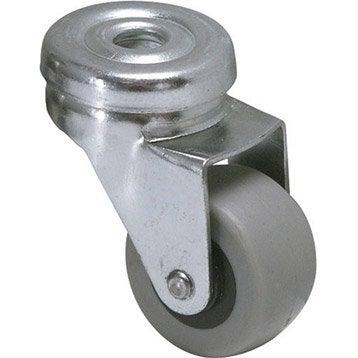 Roulette pivotante à oeil, Diam.32 mm