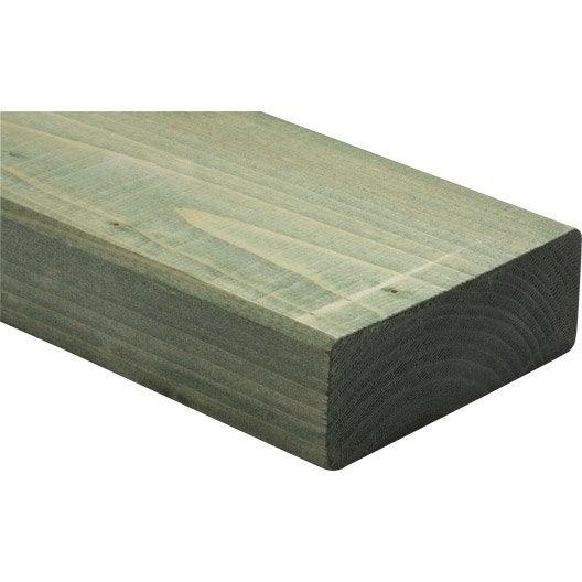 lisse basse sapin trait 45x120 mm 3 m leroy merlin. Black Bedroom Furniture Sets. Home Design Ideas