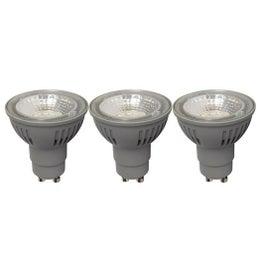 Lot de 3 ampoules réflecteur LED 5W=50W, lumière douce (environ 4000 K) LEXMAN