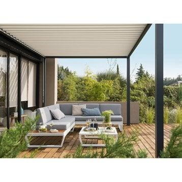 Beautiful Salon De Jardin Alu Design Images - Amazing House Design ...