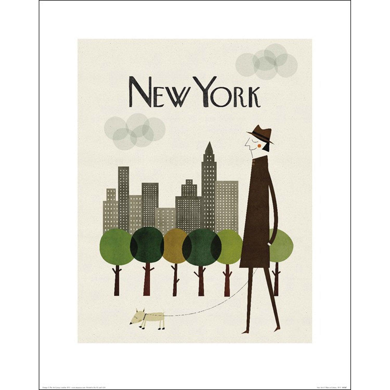 Affiche New york l.40 x H.50 cm