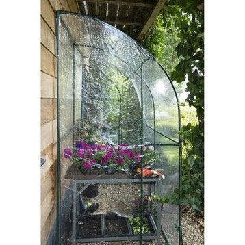 Serre murale de jardin en polyéthylène, 2 m²