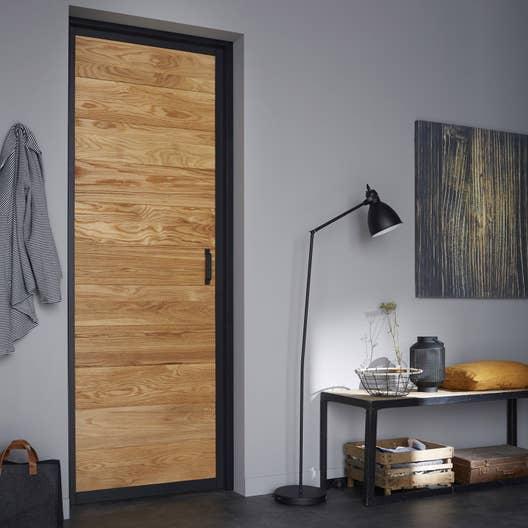 bloc porte ch ne indus artens x cm poussant gauche leroy merlin. Black Bedroom Furniture Sets. Home Design Ideas