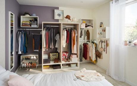 des id es de dressing leroy merlin. Black Bedroom Furniture Sets. Home Design Ideas
