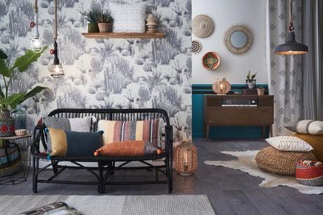 Habillez votre salon aux couleurs du style ethnique