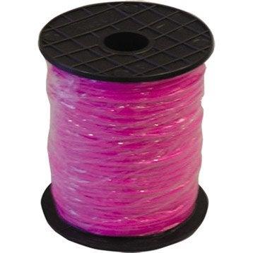 Tresse fluo rose 1,5 mm/200 m MONDELIN