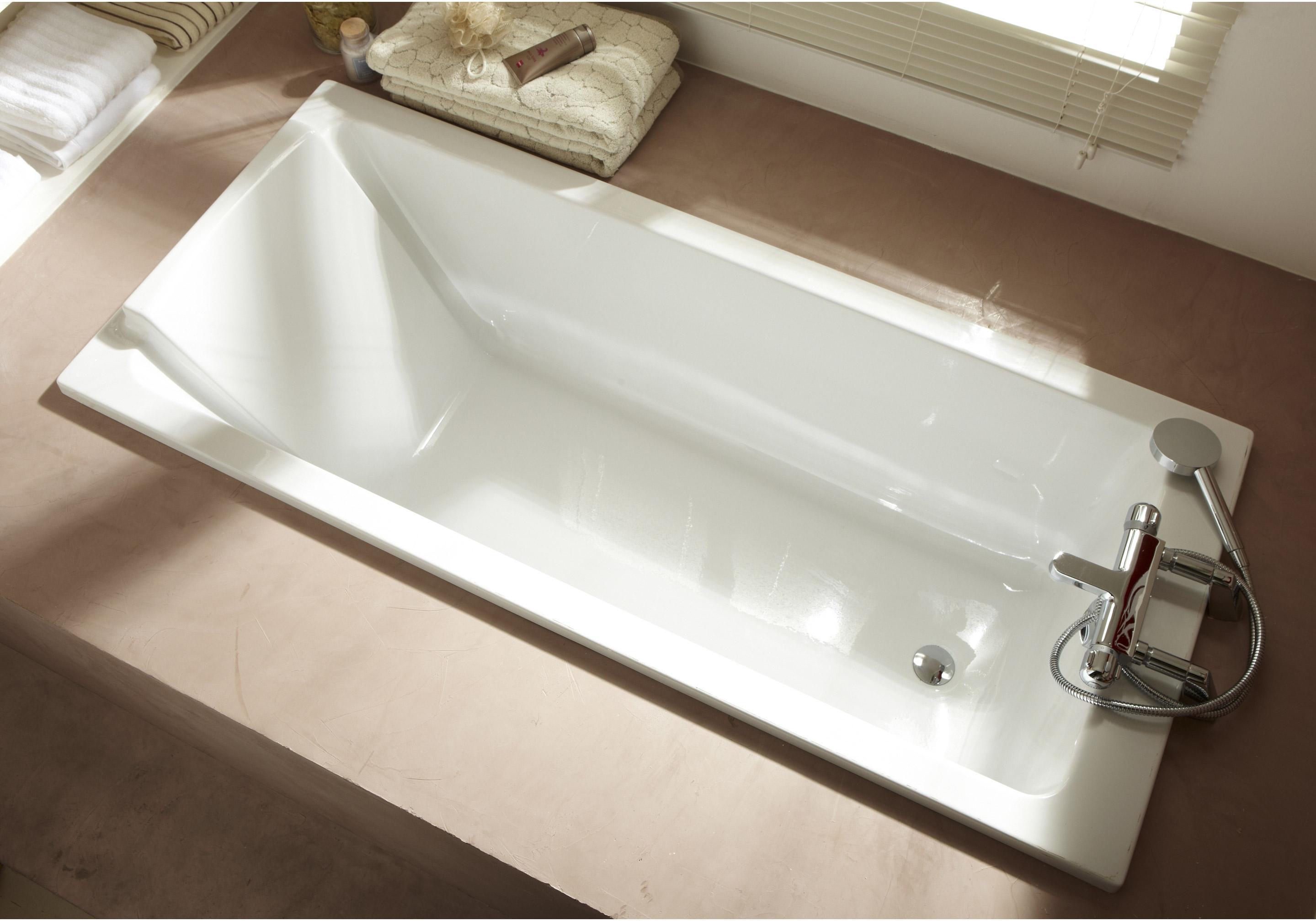Baignoire rectangulaire L.170x l.75 cm blanc, JACOB DELAFON Sofa