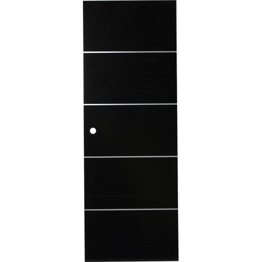 Porte coulissante verre tremp miami artens 204 x 73 cm - Porte coulissante verre trempe leroy merlin ...
