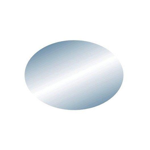 Miroir non lumineux d coup ovale x cm oval for Miroir ovale salle de bain