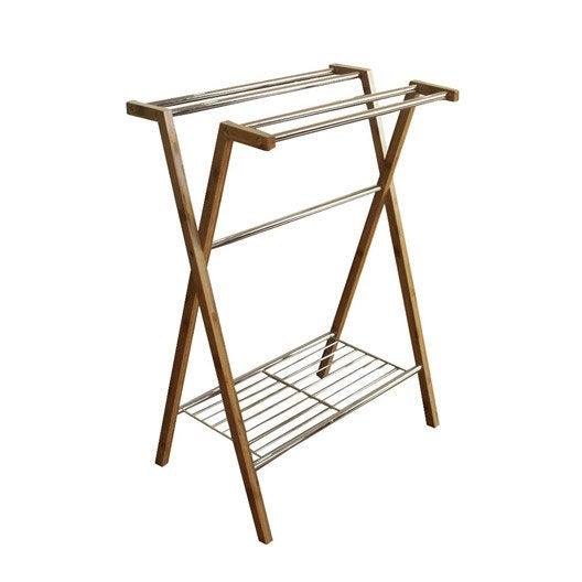 porte serviettes poser wellness leroy merlin. Black Bedroom Furniture Sets. Home Design Ideas