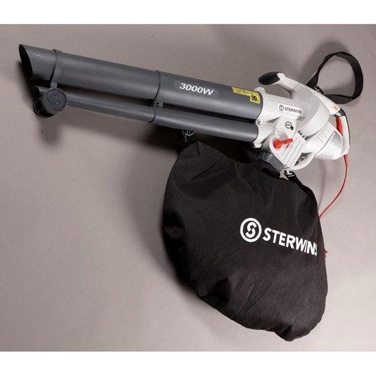 aspirateur souffleur broyeur électrique sterwins 3000 as-2, 3000 w