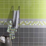 Faïence mur vert pistache, Astuce l.20 x L.20 cm