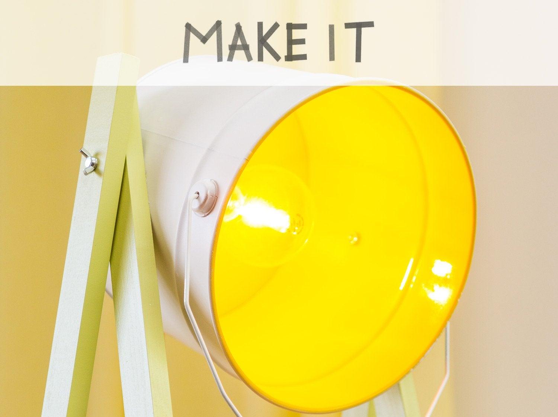 DIY : Fabriquer un lampadaire récup'