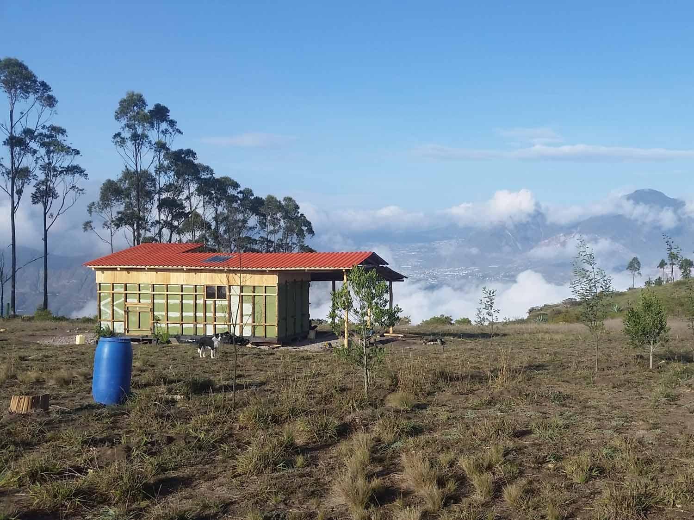 La maison du mois : une tiny house en Equateur