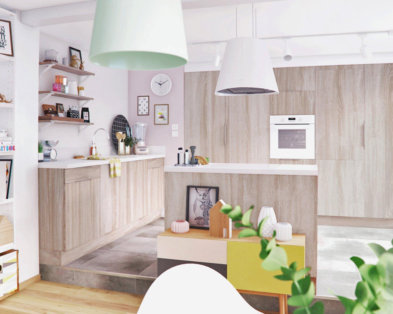 Une cuisine ouverte pour profiter pleinement de ses for Une cuisine pour tous