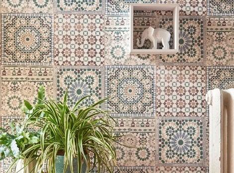 8 id es inspirantes pour un effet carreaux de ciment chez. Black Bedroom Furniture Sets. Home Design Ideas