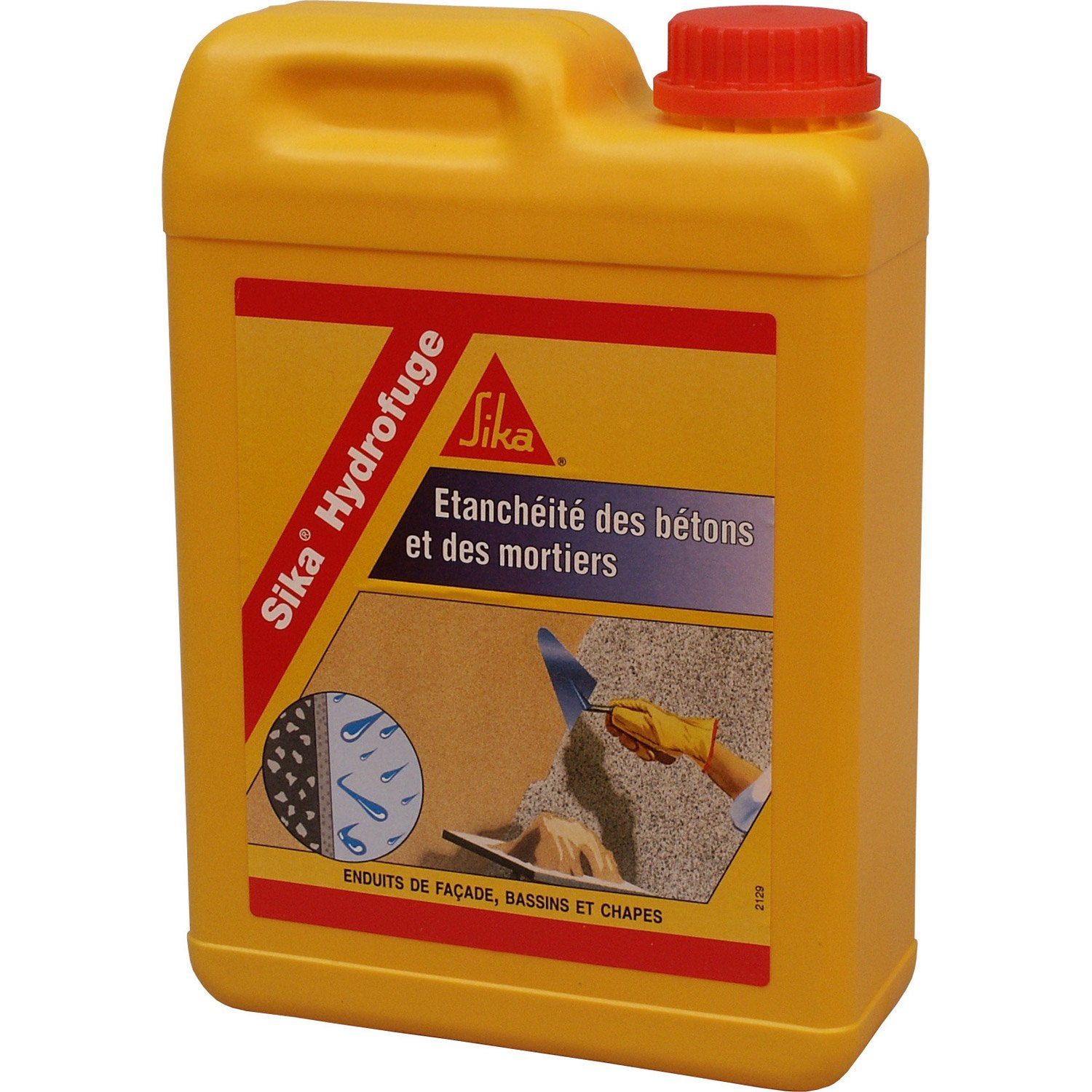 Elegant Hydrofuge Pour Mortier SIKA 2 L Blanc Idee