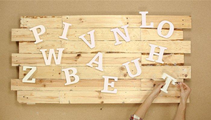 DIY  Réaliser une tête de lit en bois  Leroy Merlin