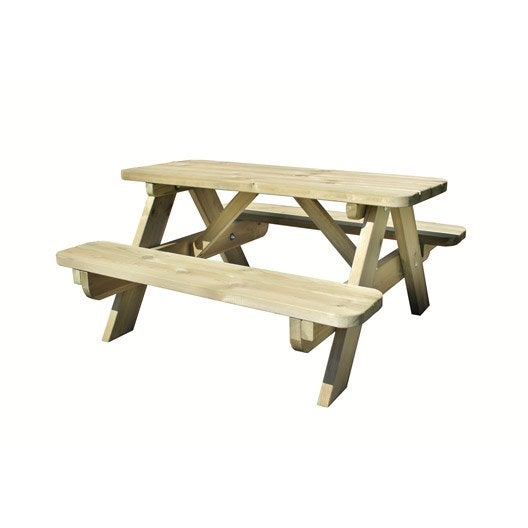 Table de jardin bricomarche conceptions de maison for Leroy merlin table jardin
