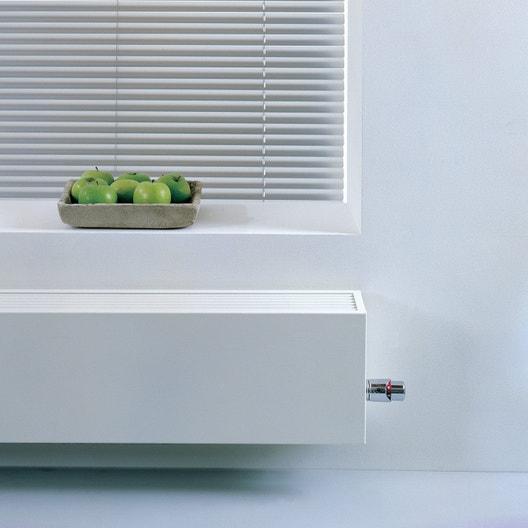 radiateur chauffage central basse temp rature mini15 blanc cm 1355 w leroy merlin. Black Bedroom Furniture Sets. Home Design Ideas