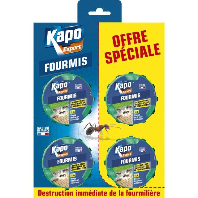 Lot De 4 Appâts Insecticides Pour Fourmis Kapo 10 G