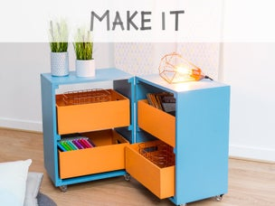 Diy fabriquer une table basse hexagonale leroy merlin - Creer une table basse ...