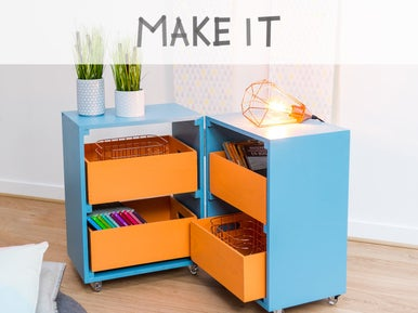 diy cr er une table basse avec des cagettes leroy merlin. Black Bedroom Furniture Sets. Home Design Ideas