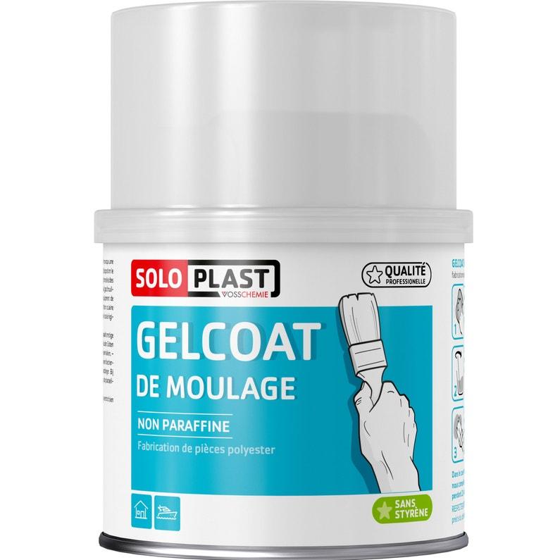 Résine Gelcoat De Moulage Blanc Soloplast 500g