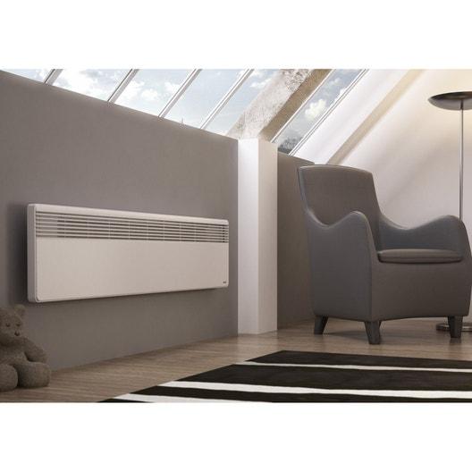 radiateur lectrique convection sauter lucki plinthe 500 w leroy merlin. Black Bedroom Furniture Sets. Home Design Ideas