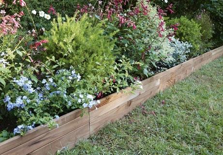 Les bordures dessinent votre jardin | Leroy Merlin