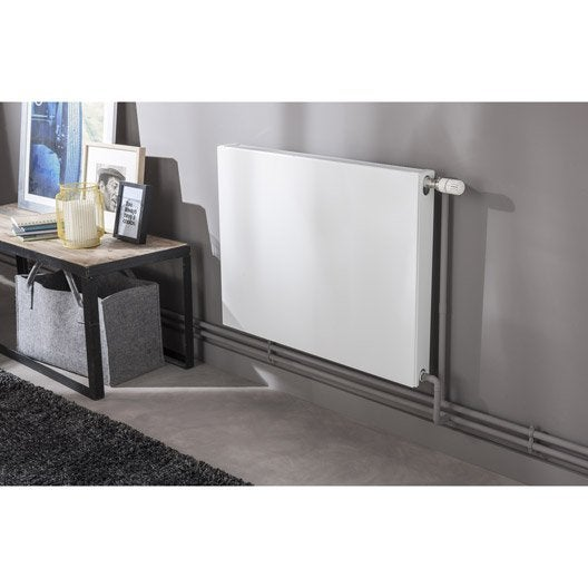 radiateur chauffage central colima blanc cm 715 w leroy merlin. Black Bedroom Furniture Sets. Home Design Ideas