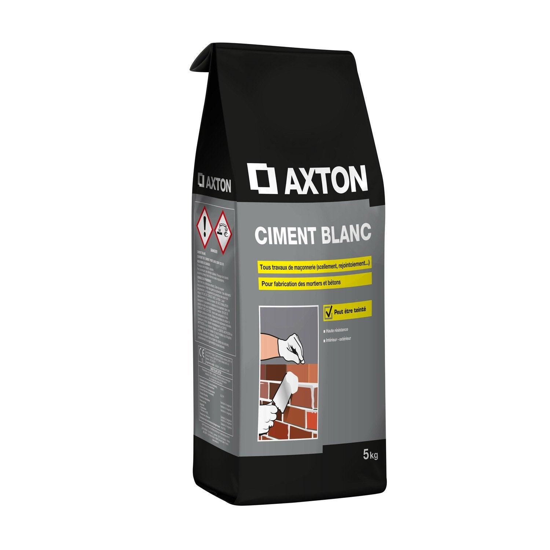 ciment poudre blanc axton 5 kg leroy merlin. Black Bedroom Furniture Sets. Home Design Ideas