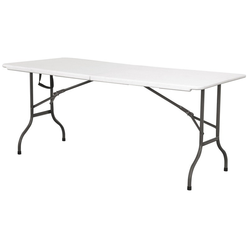 Table de jardin Cantina rectangulaire blanc 6/8 personnes | Leroy Merlin