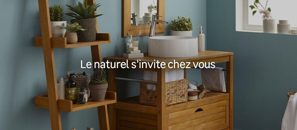 meuble salle de bains bois au meilleur prix leroy merlin. Black Bedroom Furniture Sets. Home Design Ideas