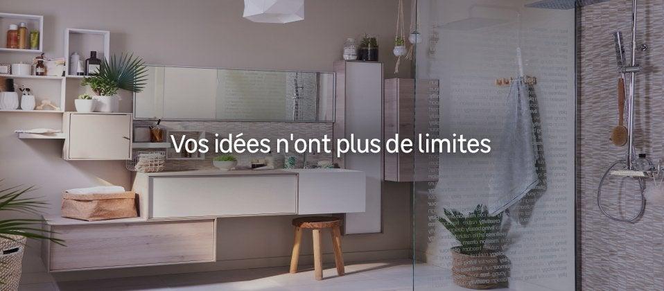 meuble salle de bains id es solutions et produits au meilleur prix leroy merlin. Black Bedroom Furniture Sets. Home Design Ideas