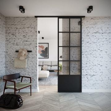 syst me coulissant syst me galandage rail porte coulissante cache rail au meilleur prix. Black Bedroom Furniture Sets. Home Design Ideas