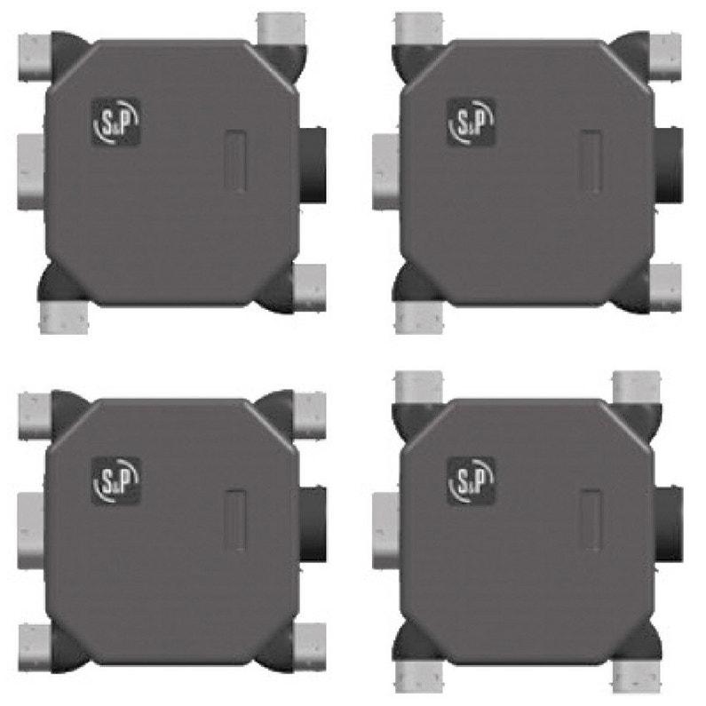 Caisson Vmc Simple Flux Autoréglable Sp Vmc Extra Plat 2