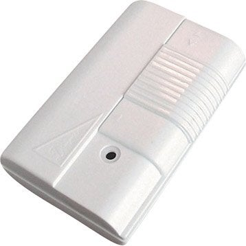 Variateur à pied TIBELEC, plastique, blanc 500 W