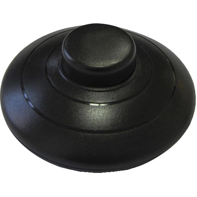 Interrupteur à Pied Tibelec Plastique Noir Leroy Merlin