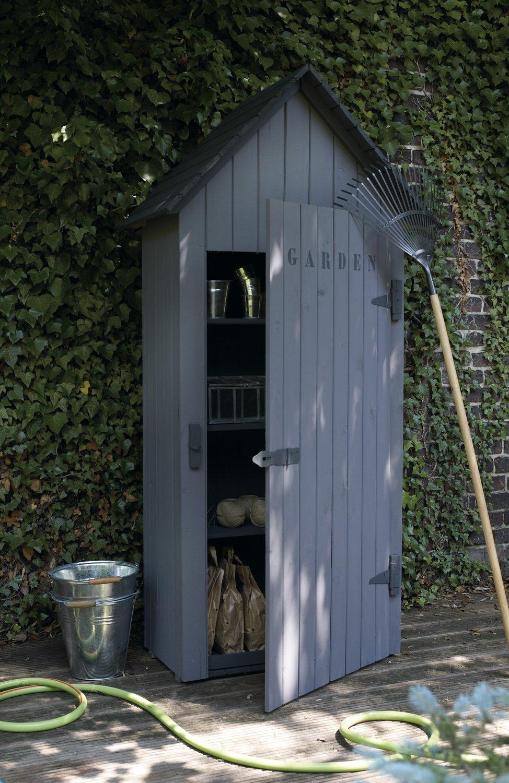une belle petite cabane de rangement leroy merlin. Black Bedroom Furniture Sets. Home Design Ideas