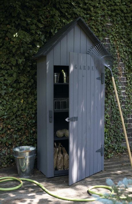 Une petite cabane spécial rangements de jardin