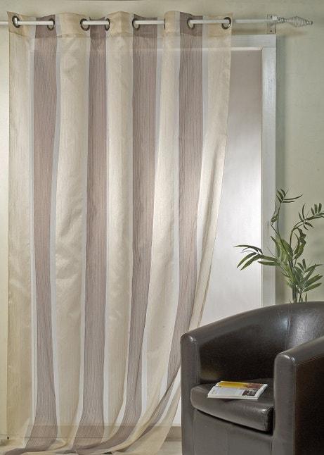 Un voilage pour apporter la touche finale à la décoration de votre intérieur